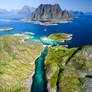Skrova Island, Lofoten, Norway