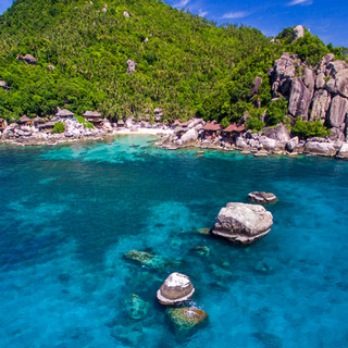 Three Rocks & Jansom Bay - Koh Tao