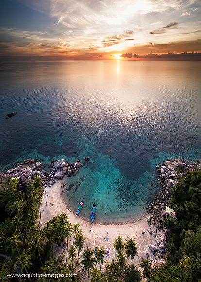Sai Noan Beach Sunset, Koh Tao, Thailand