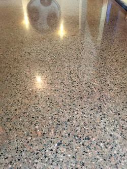 Polished Concrete and stain