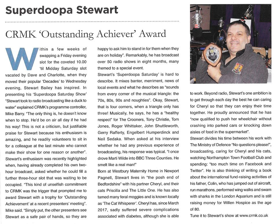 Outstanding Achiever