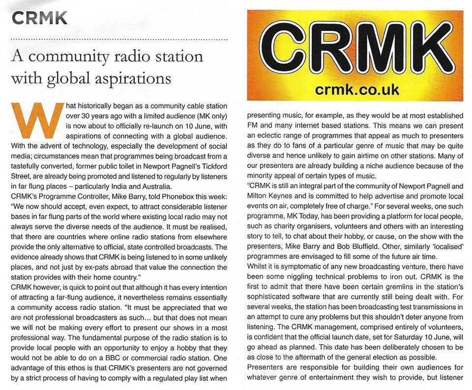 CRMK 3