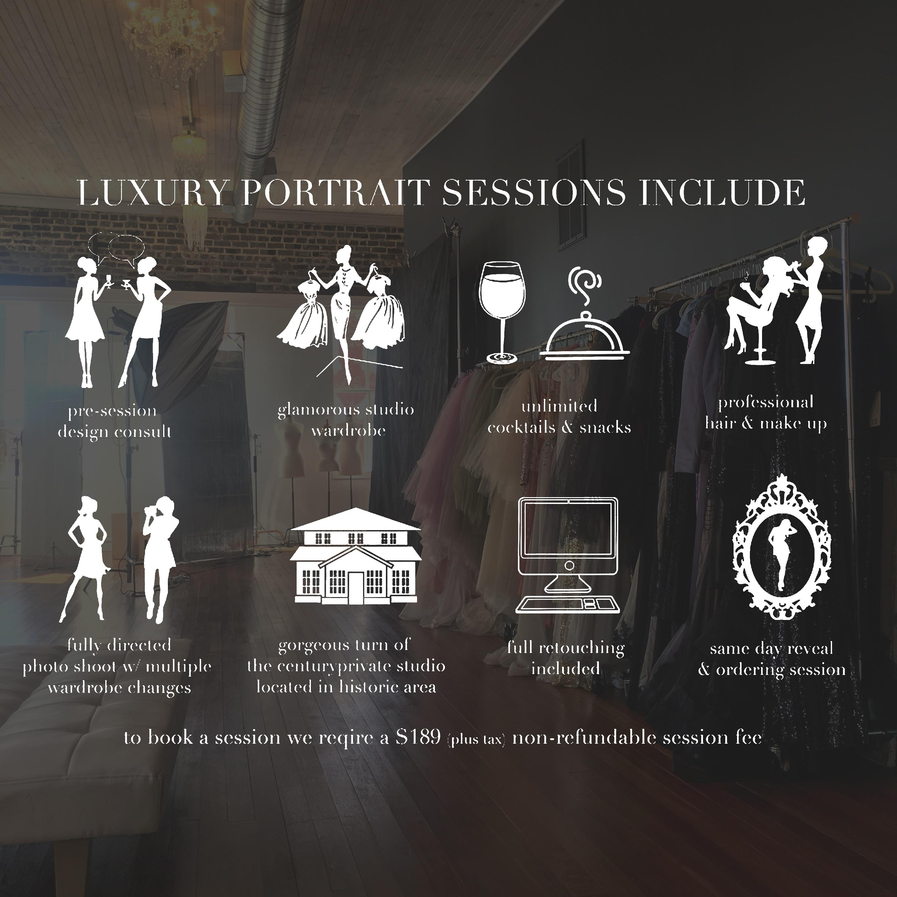 luxurysessionsinclude