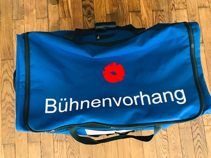Beschriftung Sporttasche