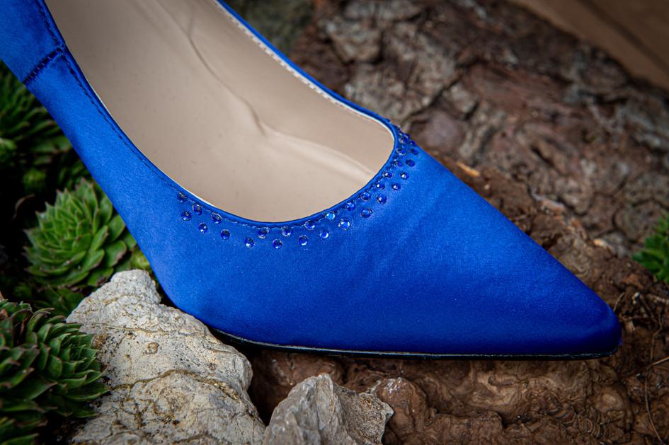 Set Blue Moon, Schuhe