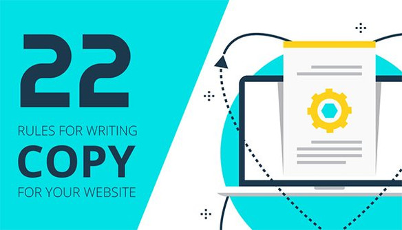 GUEST POST: 22 Rules for Writing Copy for Your Website