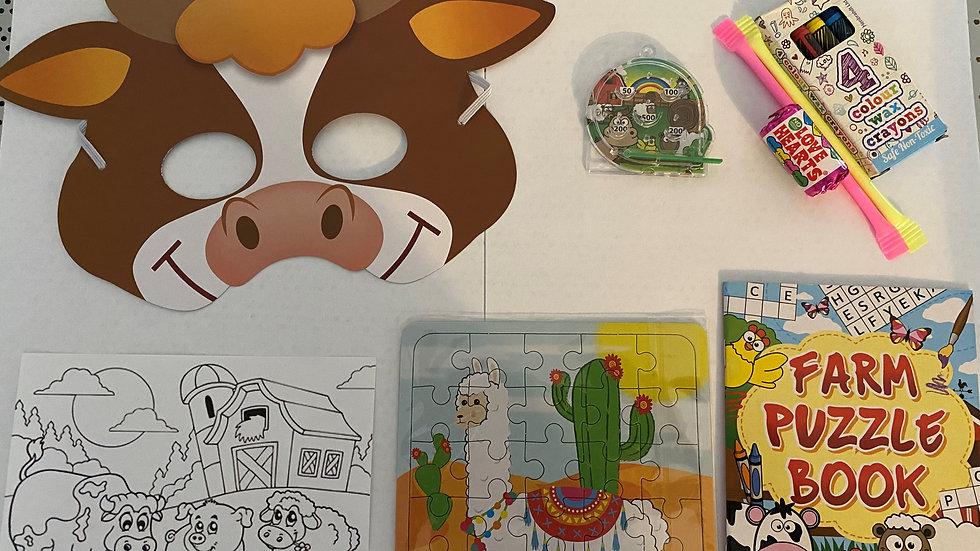Farm Animal Party Bag/Favour