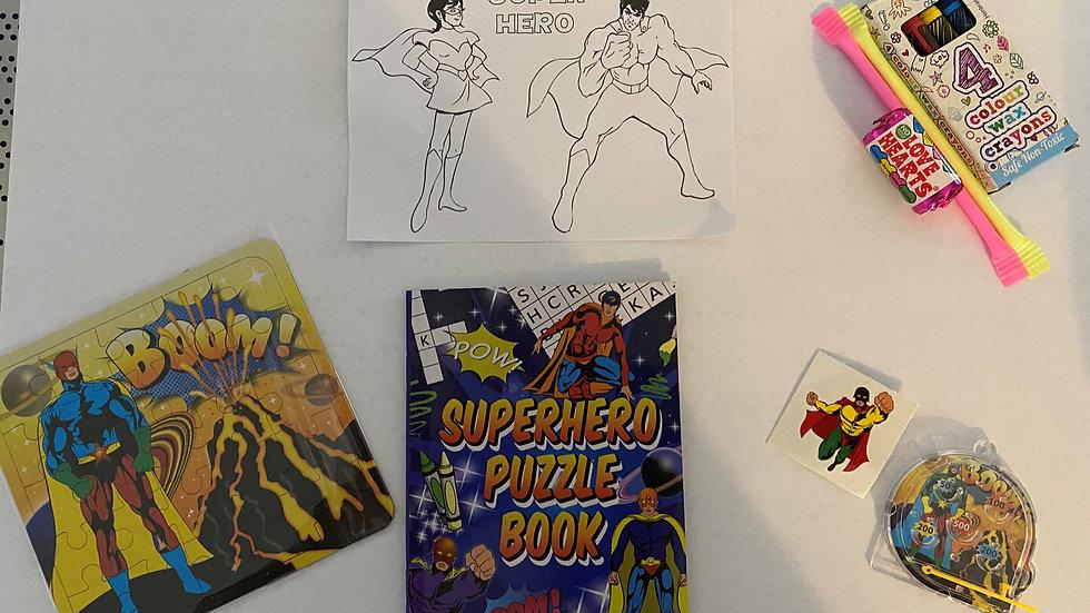 Superhero Party Bags