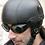 Thumbnail: Retro helma MAYOR, čierna koža, historická replika