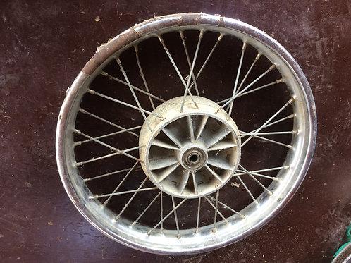 Stred kolesa s ráfikom