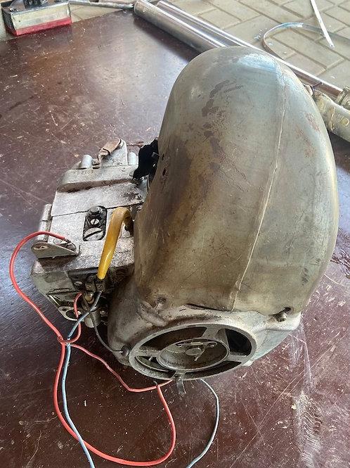 Motor Tatran, po oprave funkčný