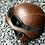 Thumbnail: Retro helma, US- hnedá