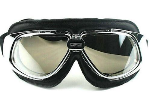 Retro okuliare, čierno- chrómové