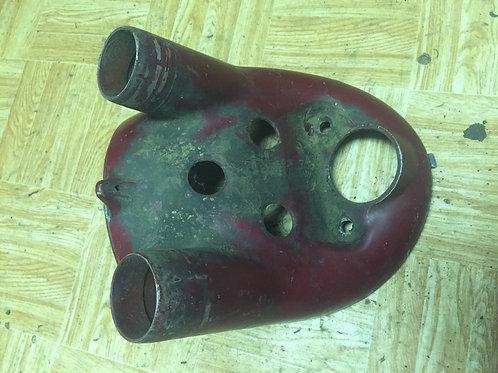 Spodná časť masky - liatinová