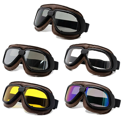 Retro okuliare, hnedo-čierne