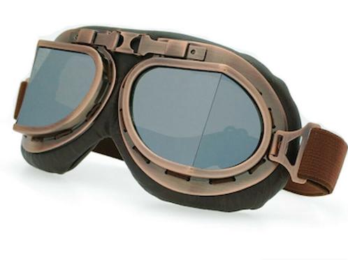 Retro okuliare, hnedé