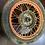 Thumbnail: Predné koleso s dezénom