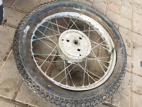 Ráfik kolesa s dezénom