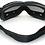 Thumbnail: Retro okuliare, čierny rám
