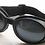 Thumbnail: Retro okuliare, čierne plastové