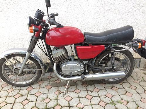 Jawa 350/634 s TP ŠPZ STK22 pojazdnea funkcne