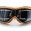 Thumbnail: Retro okuliare, hnedý rám