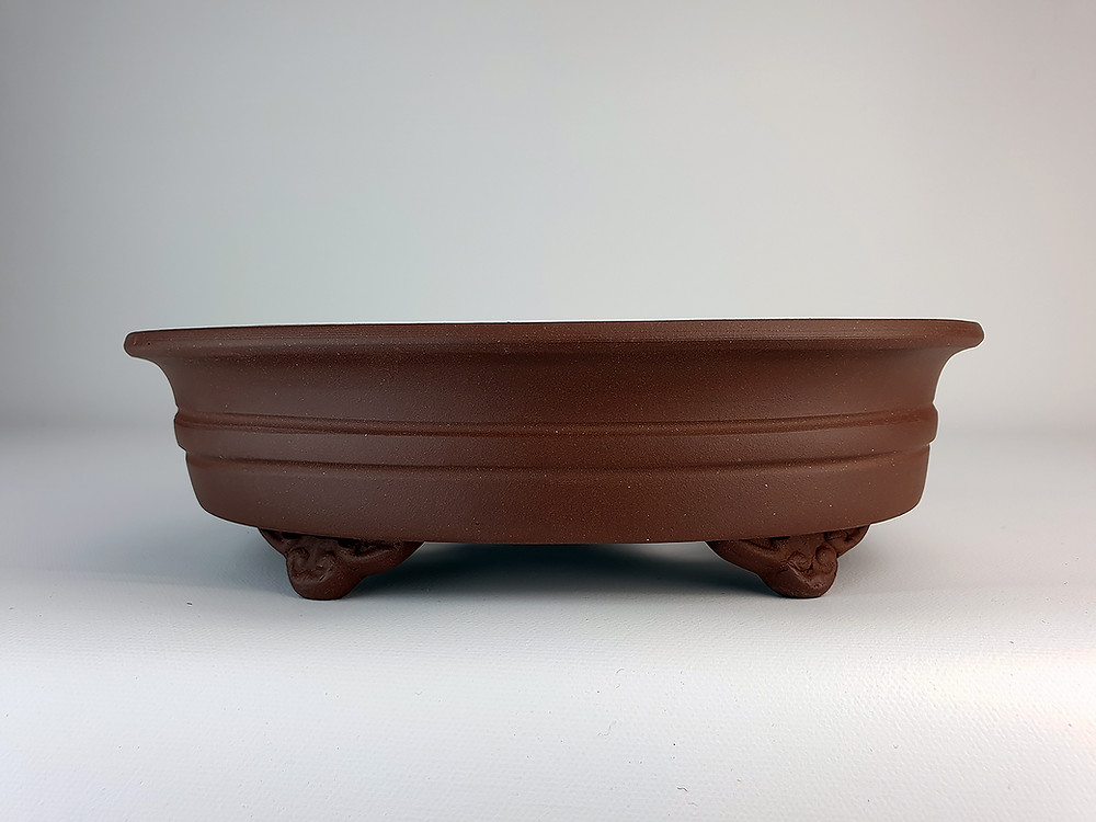 Unglazed Bonsai Pot