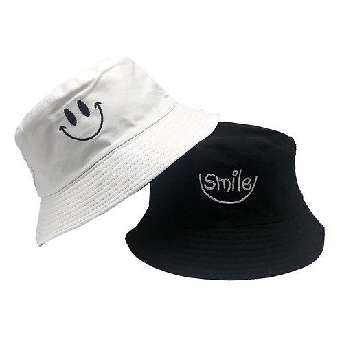 happy i'm sad bucket hat