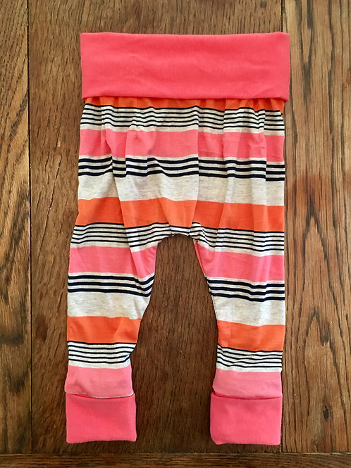 Vintage Coral Stripe