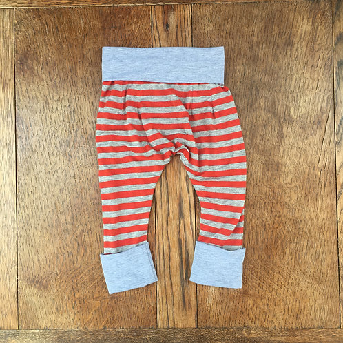 Red & Grey Stripe