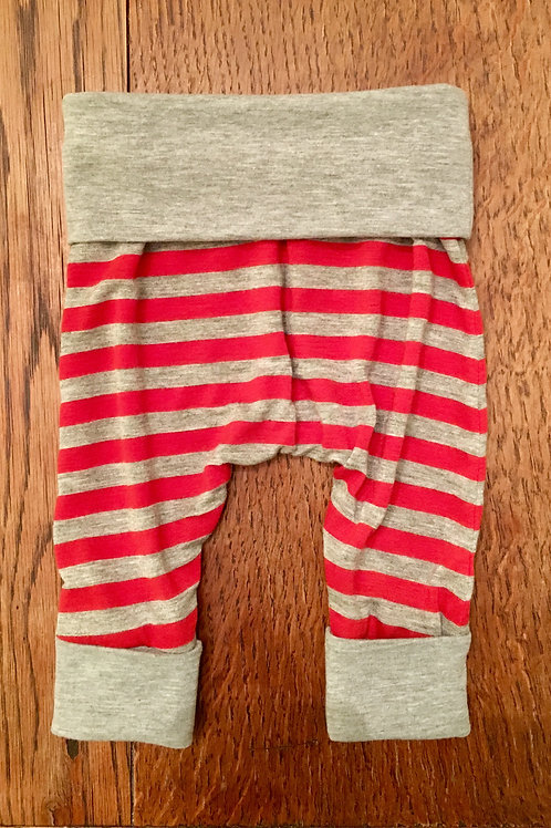 Red & Grey Stripe