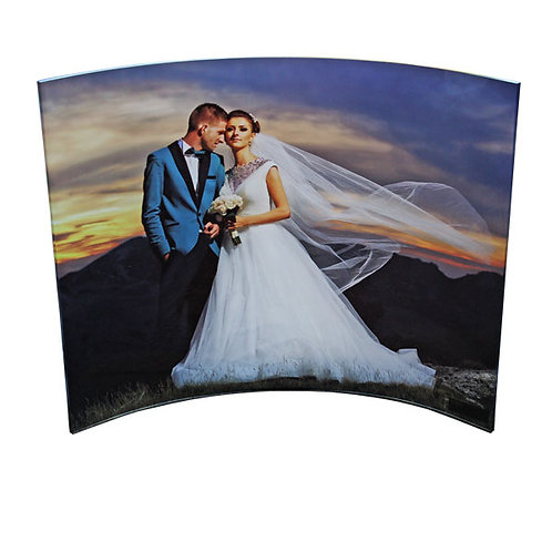 11x14 Curved Clear Acrylic Panel
