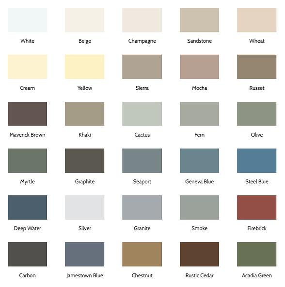 Norandex Siding Cedar Knolls color options - image by Norandex