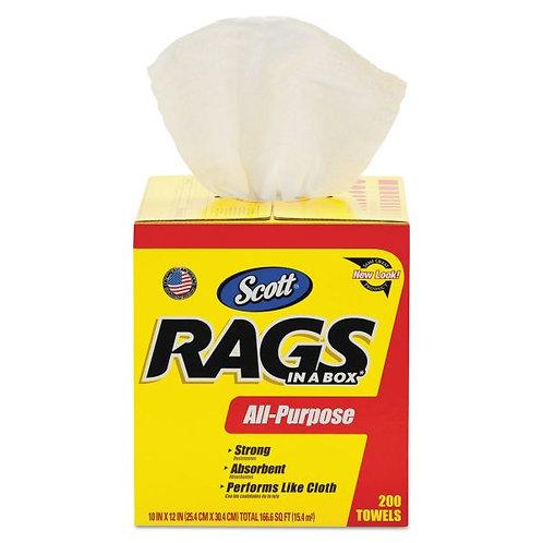 Scott Shop Rags-In-A-Box