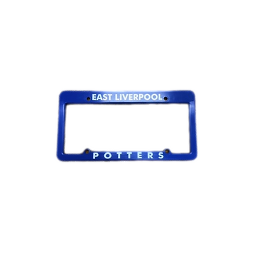 East Liverpool Potter License Plate Cover