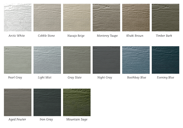 James Hardie Statement Collection color options - image by James Hardie
