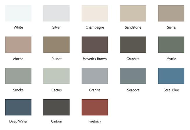 Norandex Siding Board & Batten color options - image by Norandex