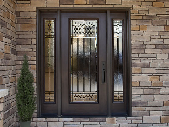 An example of the craftsmanship of ProVia doors - image by Provia