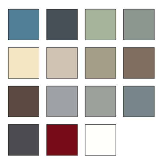 Everlast Siding Lap color options - image by Everlast