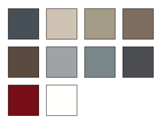 Everlast Board & Batten Siding color options - image by Everlast