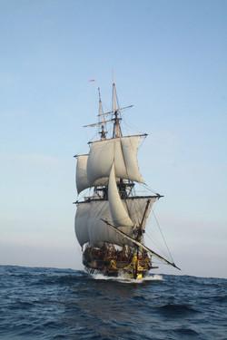 Powering with proper sail handling