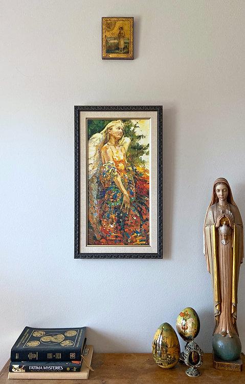 Framed Poster of Guardian Angel