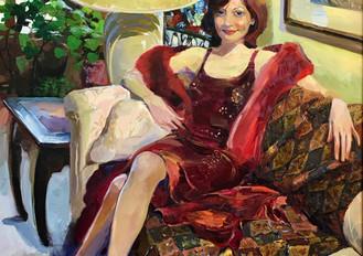 """Life size portrait """"Femme Fatale"""".jpeg"""