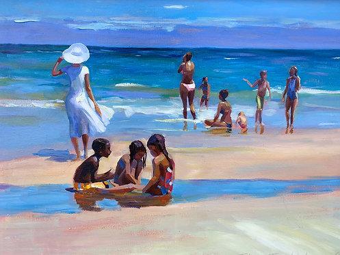 On the beach. Singer Island