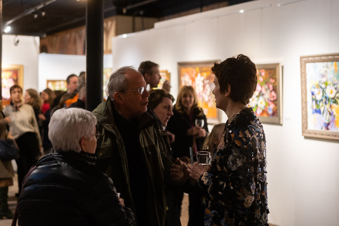 """""""God is Love"""" opening reception"""