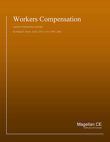 Workers Compensation (14 credits) CE Course - Online Only