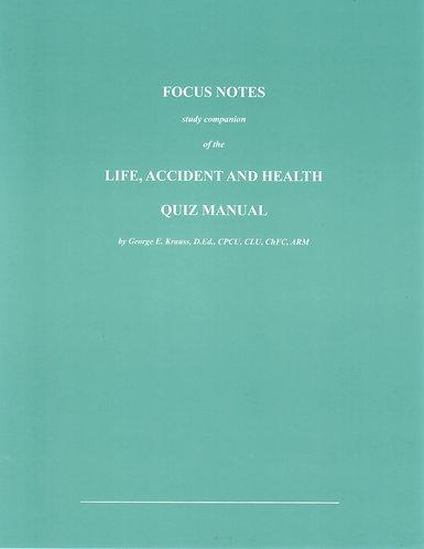 Pennsylvania LA&H - Focus Notes (included in comprehensive course)