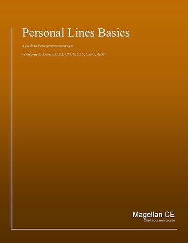 Pennsylvania Personal Lines Basics (20 credits) - Online Version