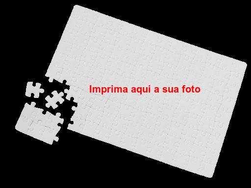 Puzzle sublimação 27x18cm