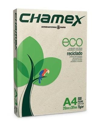 Resma de papel reciclado A4-80gr